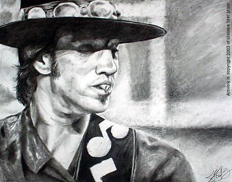 Stevie Ray Vaughan by Mel_Miller